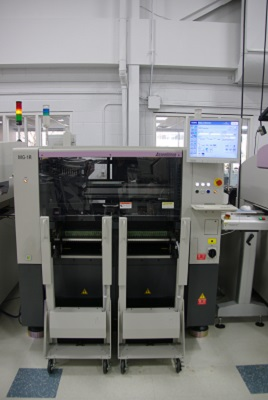 Picture of our Assembleon MG pick and place machine